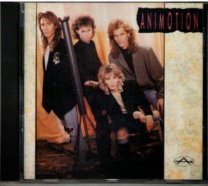 Album cover of Animotion (1989).