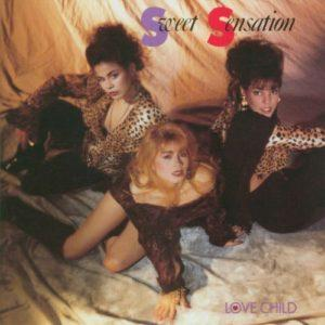 Album cover of Love Child by Sweet Sensation.