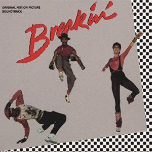 Album cover of the Breakin' soundtrack, featuring Ollie and Jerry.