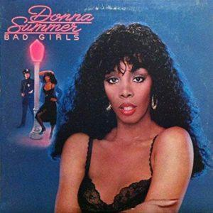 Album cover of Bad Girls by Donna Summer.