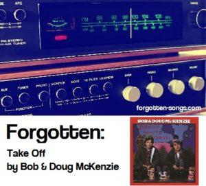 Bob And Doug Mckenzie 12 Days Of Christmas.Take Off By Bob Doug Mckenzie Unfairly Forgotten Songs