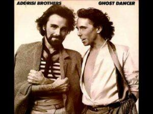Album cover of Ghost Dancer by the Addrisi Brothers.
