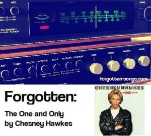 Forgotten: The One and Only by Chesney Hawkes