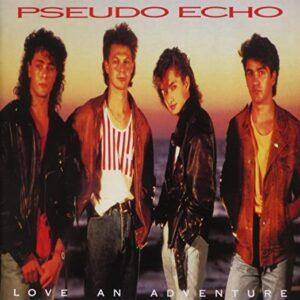 Album cover of Love an Adventure by Pseudo Echo.